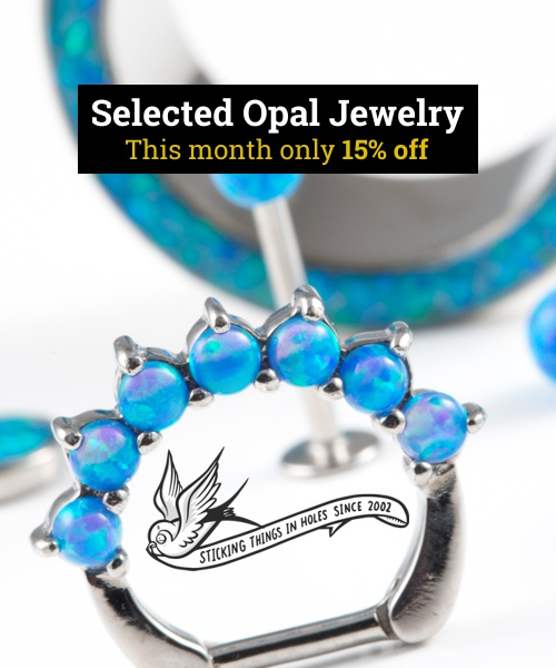 Discount on Opal Jewelry