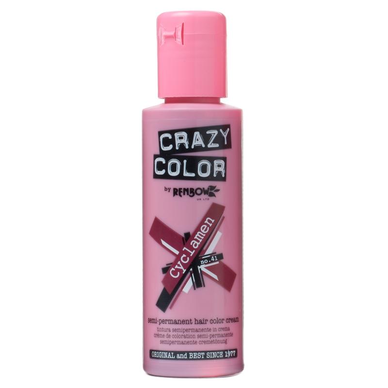 Crazy Color Hair Dye Cyclamen