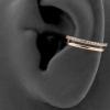 Double Conch Clicker - Swarovski Zirconia