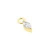 Earring Jacket - Flower Cluster