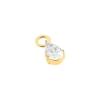 Earring Jacket - Petal Flower