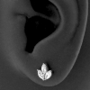Marquise Zirconia Cluster Ear Studs