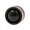 Stone Inlay Wood Plugs - Sonowood & Onyx