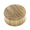Sungkai Wood Plug - Domed