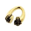 Brass Tribal Ear Weights