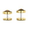 Brass Fake Plugs - Triangles