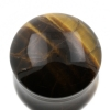Yellow Tiger's Eye Plug