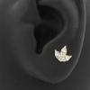 Gold Swarovski Zirconia Marquise Cluster - Threadless