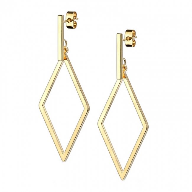 Dangle Earstuds - Diamond