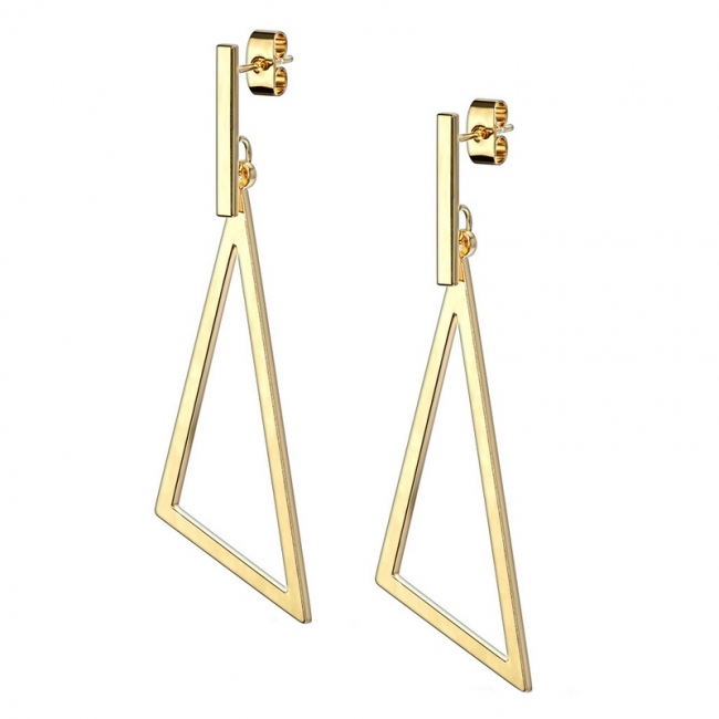 Dangle Earstuds - Triangle