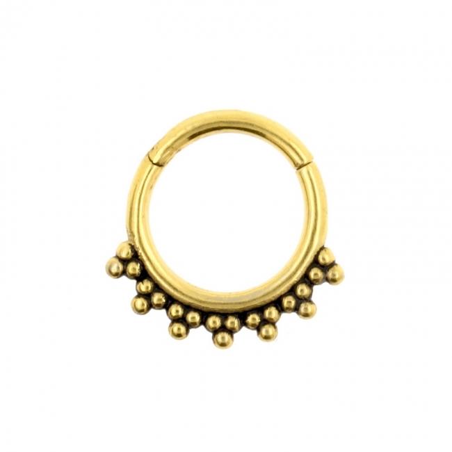 Click Ring - Vintage Dots
