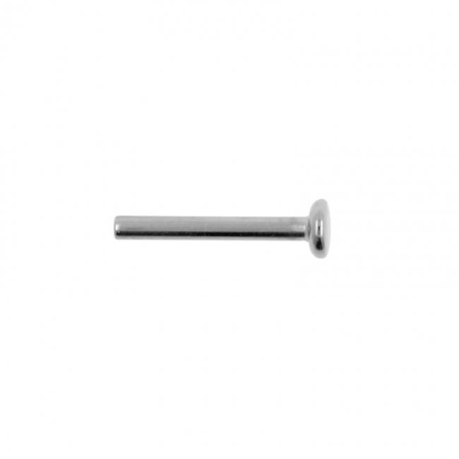 Titanium Labret Stud - Threadless