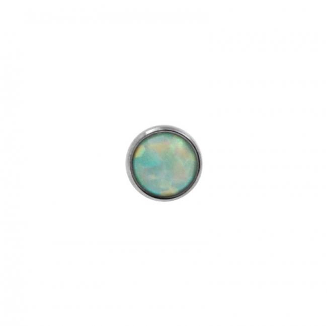 Titanium Opal Disc - Threadless