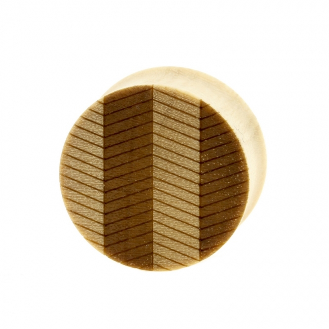 Zig Zag Plugs - Crocodile Wood