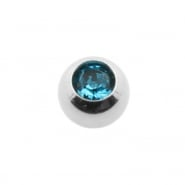 Mini Jewelled threaded ball