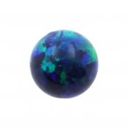 Threaded Opal Ball