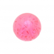 Threaded UV ball - sparkle