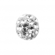 Multi jewelled clip-in ball (for B.C.R.)