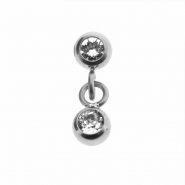 Clip in ball dangler
