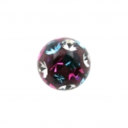 Multi Jewelled Multicolor Mini Ball