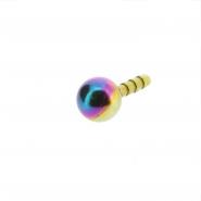 Ball insert for Bioplast labret