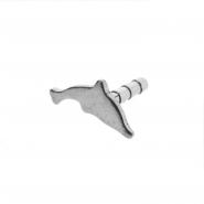 Insert for Bioplast labret: Dolphin