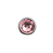 Jewelled Disc - for 1,2mm piercing jewelry