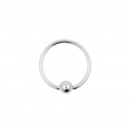 Fixed Ball Closure Ring