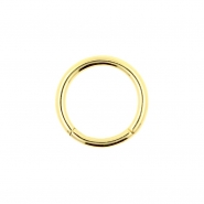 Golden Click Ring