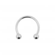 Mini circular barbell with balls