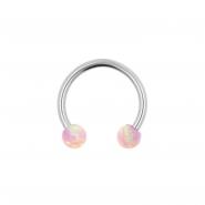 Mini Circular Opal Barbell