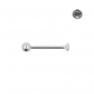 Nano Barbell with 2,35mm Gem