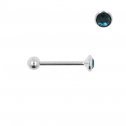 Nano Barbell with 3mm Gem