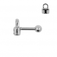 Tragus Helix Barbell Lock