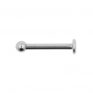 Titanium labret with 3mm ball