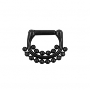 Septum Click Ring - Double Dots