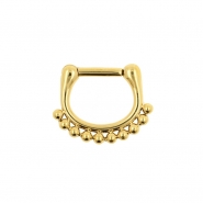 Septum Click Ring - Dots