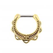 Brass Septum Clicker