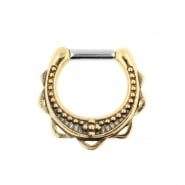 Brass Septum Clicker