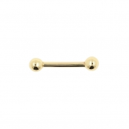Gold Mini Barbell