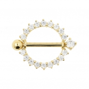 Gold Nipple Shield