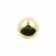 Gold Microdermal Dome for 1,6mm jewelry