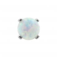 White Gold Opal Attachment