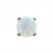 White Gold Opal Attachment