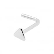 Gold Nosestud - Triangle