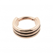 Triple Click Ring Flat - Shaded