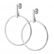 Dangle Earstuds - Hoop