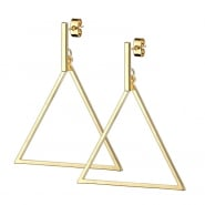 Dangle Earstuds - Large Triangle