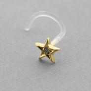 Bioplast Nosestud - Gold Star