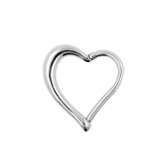 Heart Shaped Click Ring